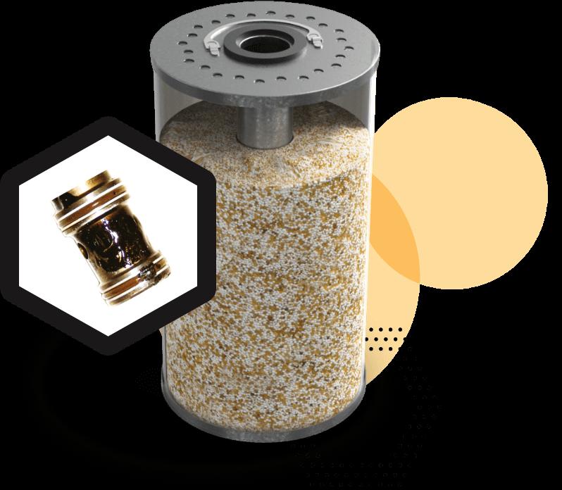 ion exchange resin cartridge