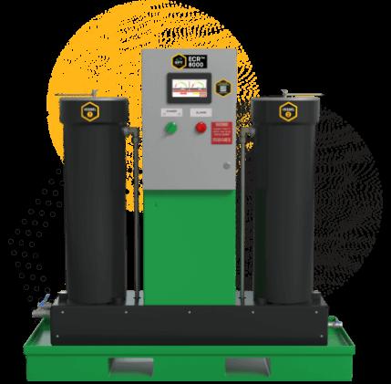 ECR Sub-micron Particulate Contamination Removal